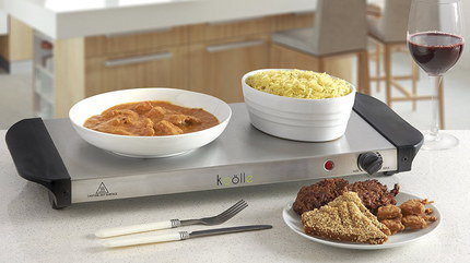 3 Component Electric Buffet Food Warmer With Side Grips