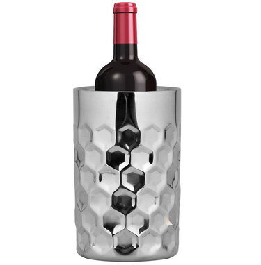 Wine Bottle Cooler In Stainless Steel
