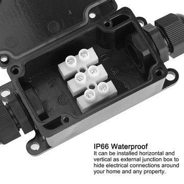 Junction Box For Outdoors Rectangular Shaped