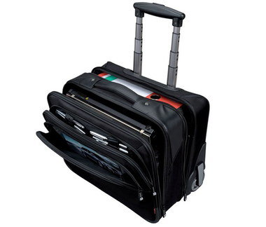 Laptop Briefcase On Wheels With Square Hand Grip