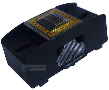 Auto Playing Card Sorter In Black With Four Legs