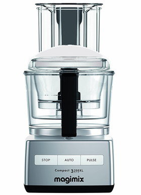 Food Processor Blender With Brushed Effect Exterior