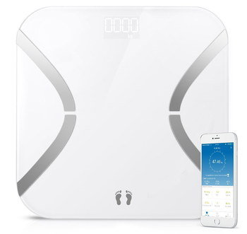 Smart Body Analysis Scale In All White