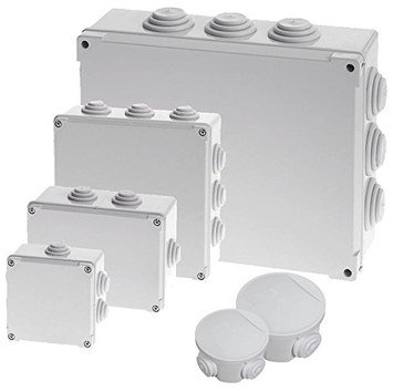 White Water Tight Junction Box In 4 Sizes