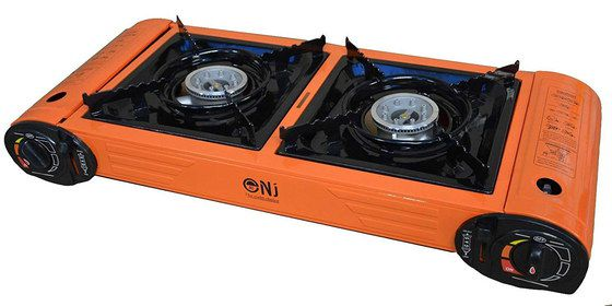 Camping Gas Stove In Red Finish
