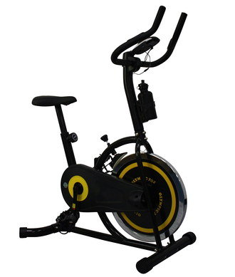 Black Spinning Exercise Bike With Water Carrier