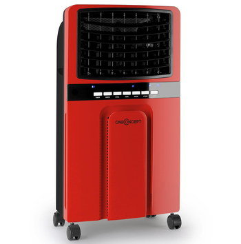 Humidifier Cooler Purifier In Red Finish