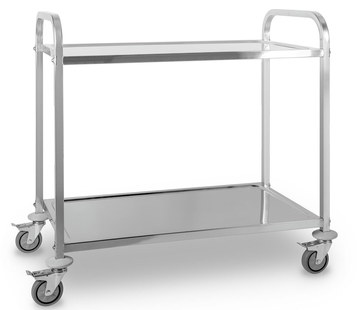Serving Trolley For Home With 4 Wheels
