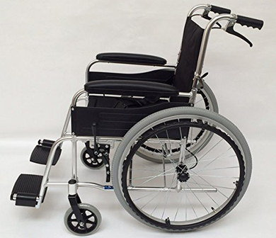Light Wheelchair For Travel With Blake Handles