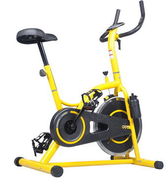 Spin Bike In Bright Yellow