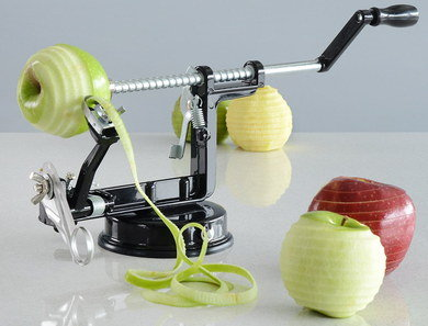 Corer Apple Peeler Machine In Black