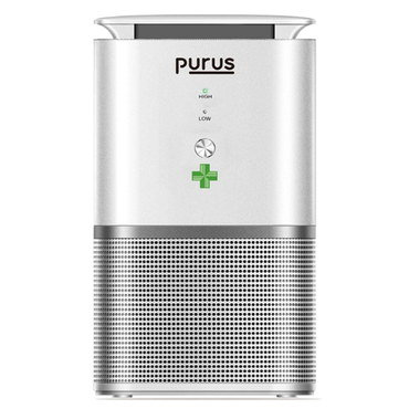 Room Air Purifier In Smooth White Finish