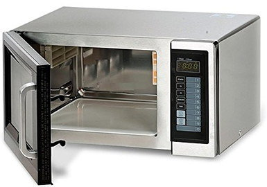 25 Litres Steel Microwave With Polished Look