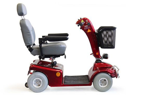 Red Roma Medical Power Chair