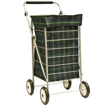 Heavy Duty Shopping Trolley With Black Grip