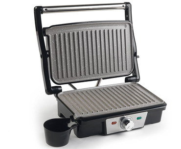 Indoors Electric Grill With Black Tray