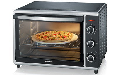 42 Litres Table Top Convection Oven In Black