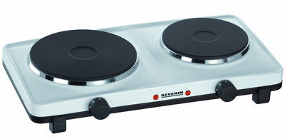Two Burners Electric Hot Plate On 4 Legs