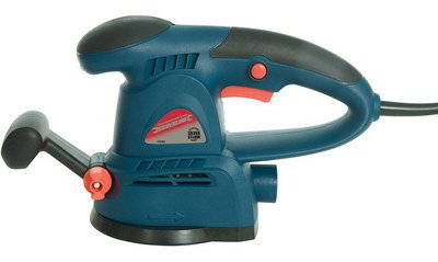 Power 430W Silverstorm Orbit Sander In Blue