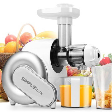 Orange Juice Maker With Transparent Chute