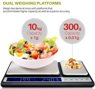 Milligram Digital Scale With Slim Dimensions