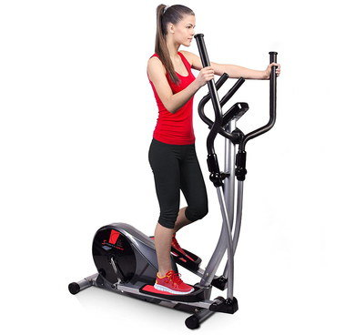 Wireless Control Cross Trainer In Black Steel Frame