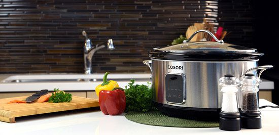 Slow Cooker With Tranparent Lid