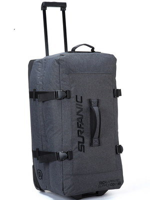 Durable Big Rolling Duffle Bag With Long Handle