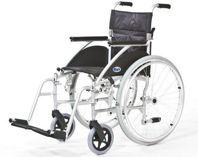 Self Propelling Wheelchair With 2 Big Wheels