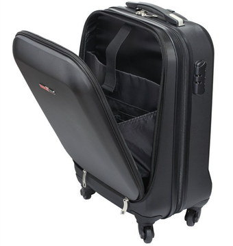 4 Wheel Cabin Suitcase With Big Compartments