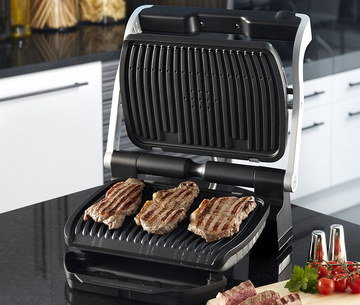 Fat Free Grill With Big Steel Hinge