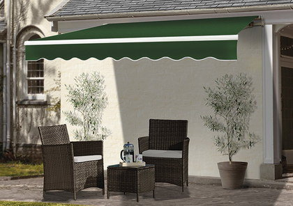 Awning For Home In Stripes