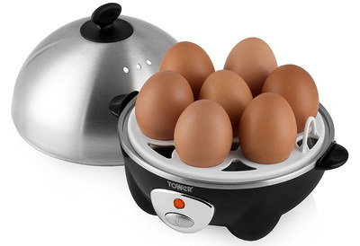 Automatic Electric Egg Boiler With Steel Dome