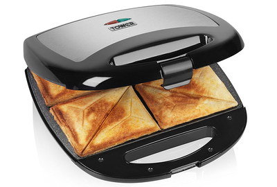 Sandwich Toaster Removable Plates With Front Lock