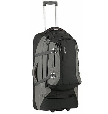 Mens Duffle Bag On Wheels With Tie Bands