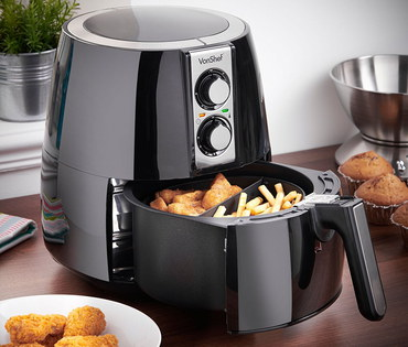 Healthy Frying Machine In Black Casing