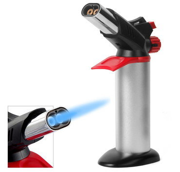 Creme Brulee Torch With Blue Flame
