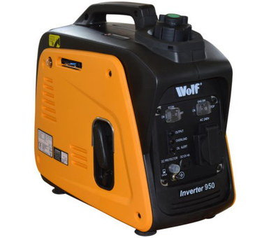 2000 Watts Generator For Camping In Black And Orange