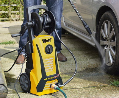 Portable Power Washer In Black And Yellow