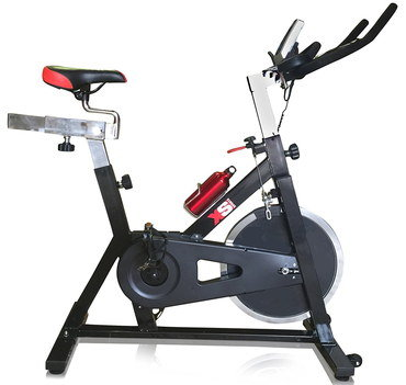 Tilt Function Bike For Training With Black Handle Bars