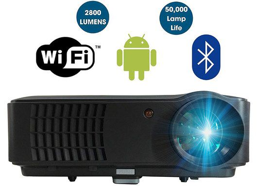 Home Theater Projector In All Black