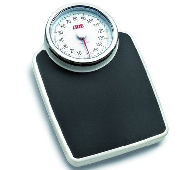 Mechanical Bathroom Scales With Black Base
