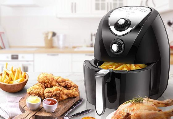 Healthy Air Fryer With Circular Controls
