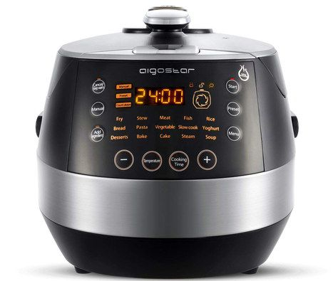Slow Cooker For One With Front LCD Timer