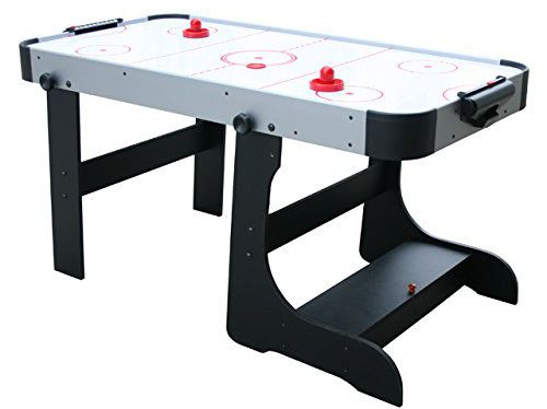 Folding Hockey Table With Black Legs