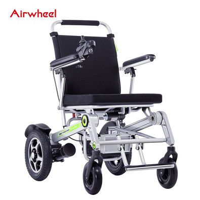 Collapsible Wheelchair With Small Front Wheels