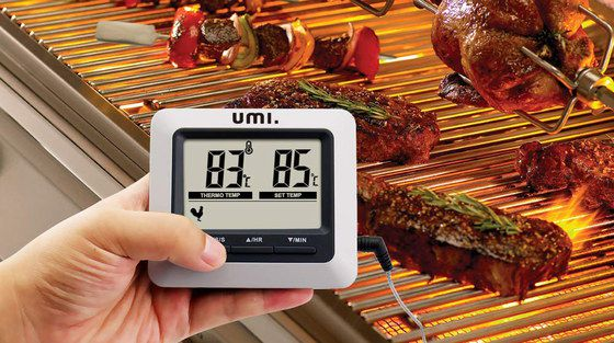Digital Oven Thermometer With Square LCD