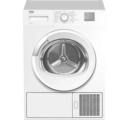 Compact Condenser Tumble Dryer In White