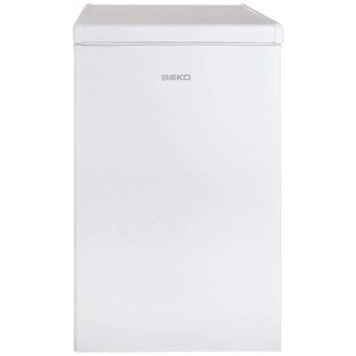 Free Standing White Chest Freezer