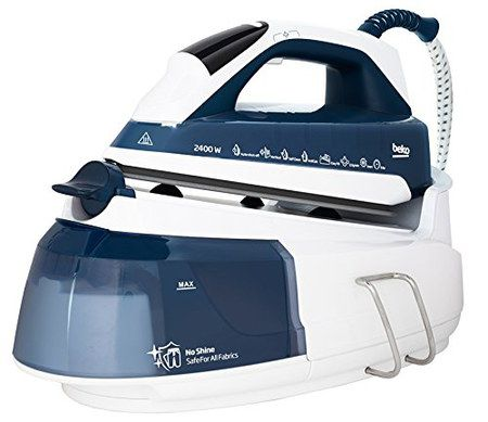 Steam Generator Iron With White Handle